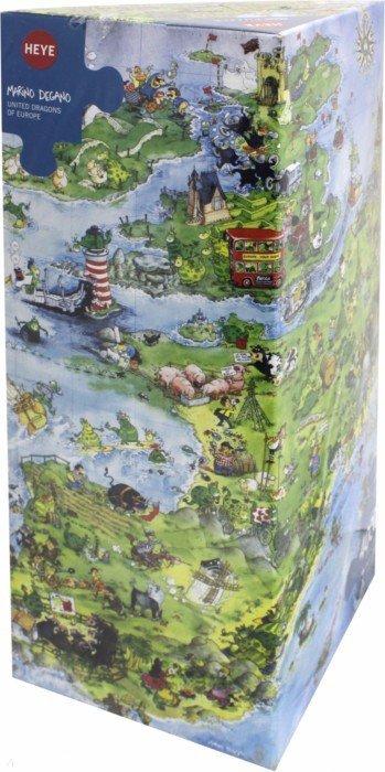 """Иллюстрация 1 из 14 для Puzzle-4000 """"Драконы в Европе"""" Marino Degano (8854)   Лабиринт - игрушки. Источник: Лабиринт"""