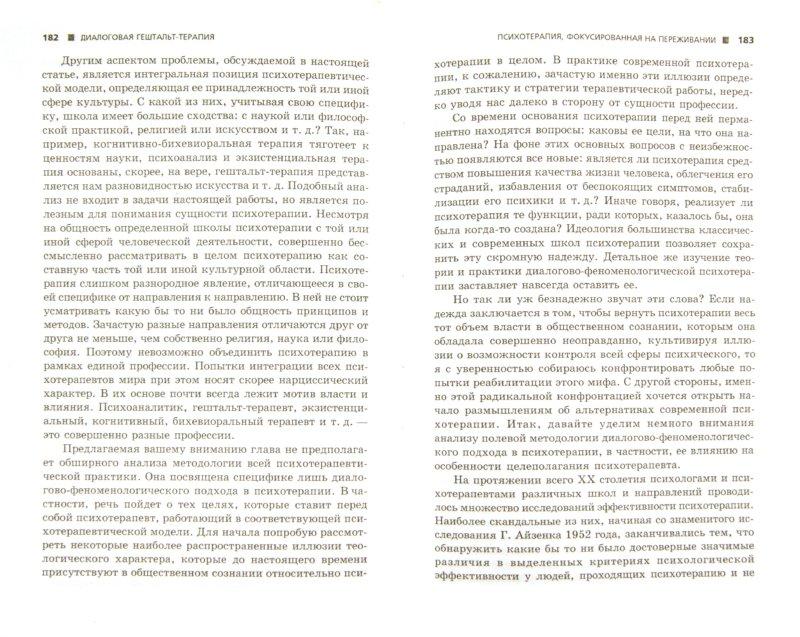 Иллюстрация 1 из 5 для Диалоговая гештальт-терапия. Психотерапия переживанием - Игорь Погодин | Лабиринт - книги. Источник: Лабиринт