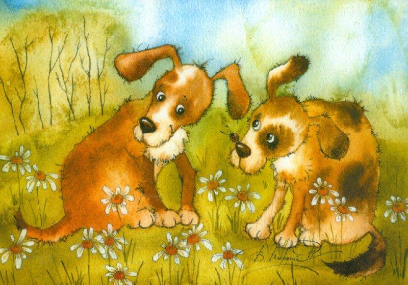 Иллюстрация 1 из 23 для Сказки в красках. Комплект из 16 открыток - Виктория Кирдий | Лабиринт - сувениры. Источник: Лабиринт