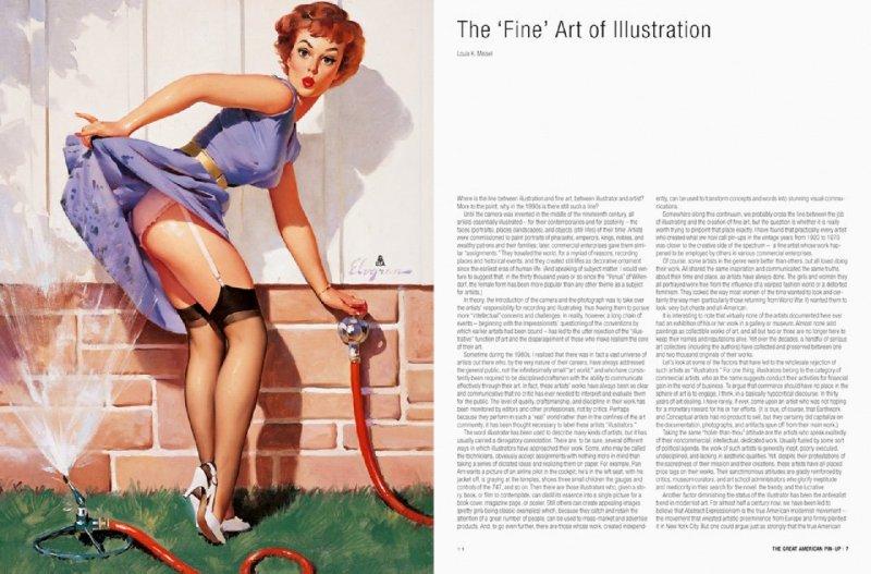 Иллюстрация 1 из 8 для The Great American Pin-Up - Martignette, Meisel   Лабиринт - книги. Источник: Лабиринт