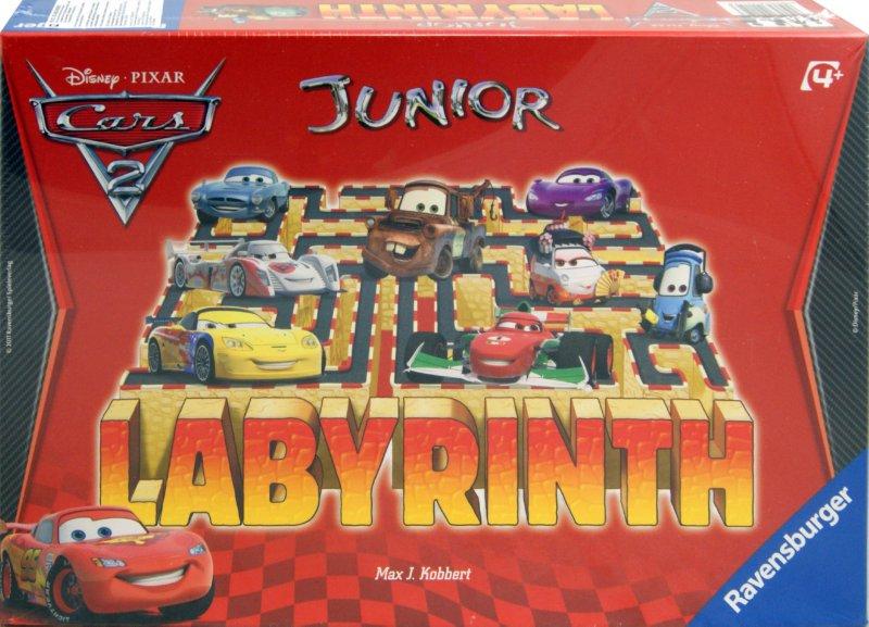 Иллюстрация 1 из 4 для Настольная игра Лабиринт Джуниор Тачки (221523) - Max Kobbert   Лабиринт - игрушки. Источник: Лабиринт