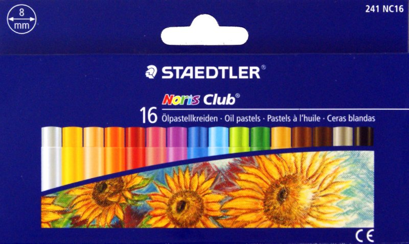 Иллюстрация 1 из 8 для Пастель масляная (16 цветов) (241 NC16 Noris Club 241) | Лабиринт - канцтовы. Источник: Лабиринт