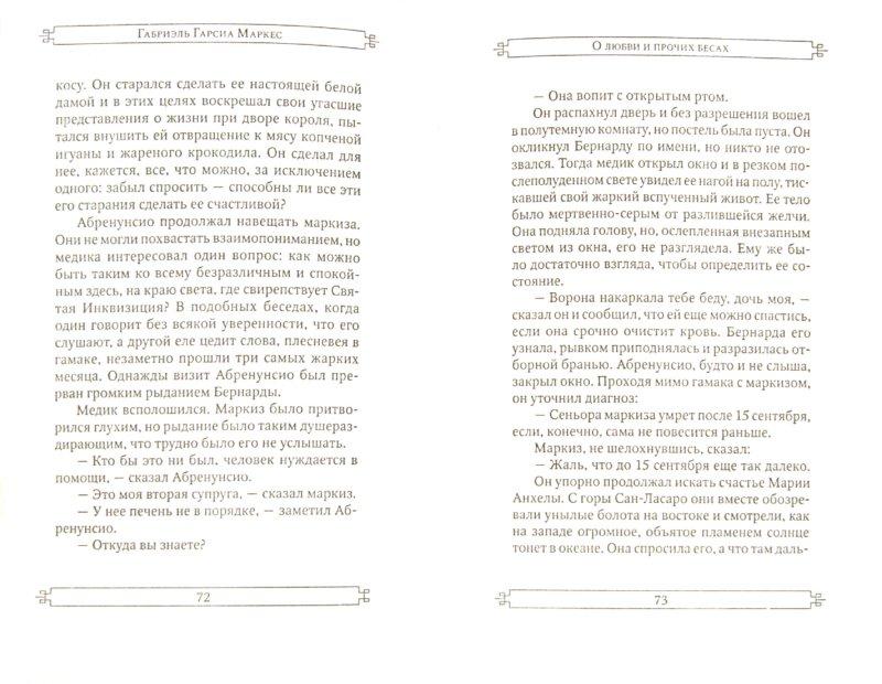 Иллюстрация 1 из 16 для О любви и о прочих бесах - Маркес Гарсиа   Лабиринт - книги. Источник: Лабиринт
