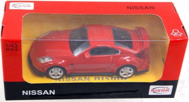 Иллюстрация 1 из 4 для Машина Nissan 350Z металлическая 1:43 (35600)   Лабиринт - игрушки. Источник: Лабиринт