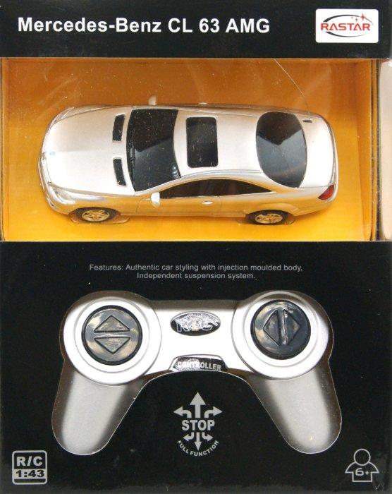 """Иллюстрация 1 из 9 для Машина """"Mercedes CL 63 AMG"""", радиоуправляемая (34100)   Лабиринт - игрушки. Источник: Лабиринт"""