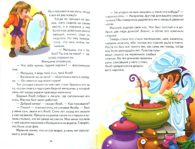 Иллюстрация 1 из 24 для Мудрые сказки - Вильгельм Гауф   Лабиринт - книги. Источник: Лабиринт