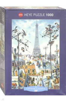 Puzzle-1000 Эйфелева башня Loup (29358) пазлы crystal puzzle 3d головоломка вулкан 40 деталей