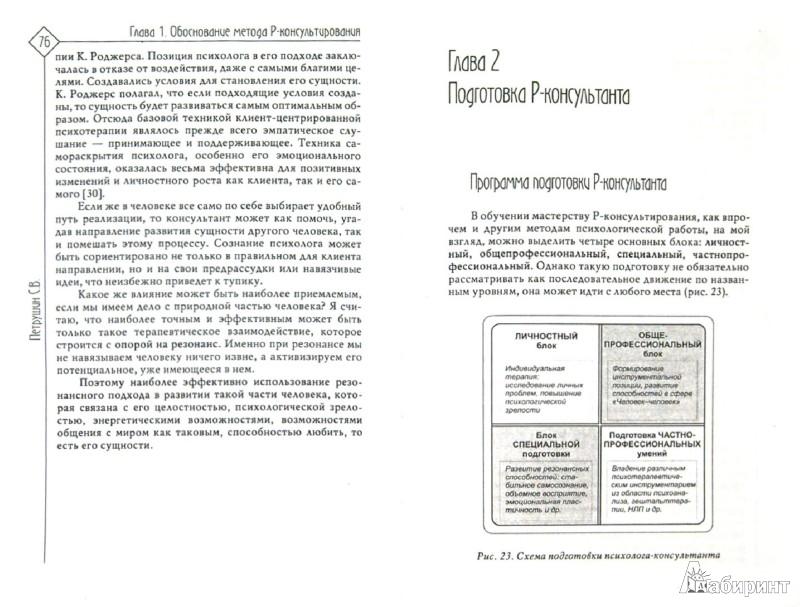 Иллюстрация 1 из 8 для Резонансное консультирование (консультант-центрированный подход) - Сергей Петрушин | Лабиринт - книги. Источник: Лабиринт