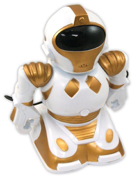 Иллюстрация 1 из 2 для Робот радиоуправляемый 22 см, белый (C-00061) | Лабиринт - игрушки. Источник: Лабиринт
