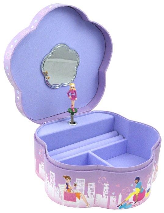 """Иллюстрация 1 из 3 для Шкатулка музыкальная """"Девушка с мороженым"""" (58000)   Лабиринт - игрушки. Источник: Лабиринт"""