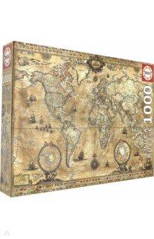Пазл-1000 Античная карта мира (15159) educa пазл пекарня
