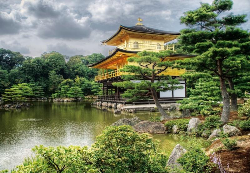 "Иллюстрация 1 из 5 для Пазл-2000 ""Храм Кинкакудзи, Киото"" (15182)   Лабиринт - игрушки. Источник: Лабиринт"