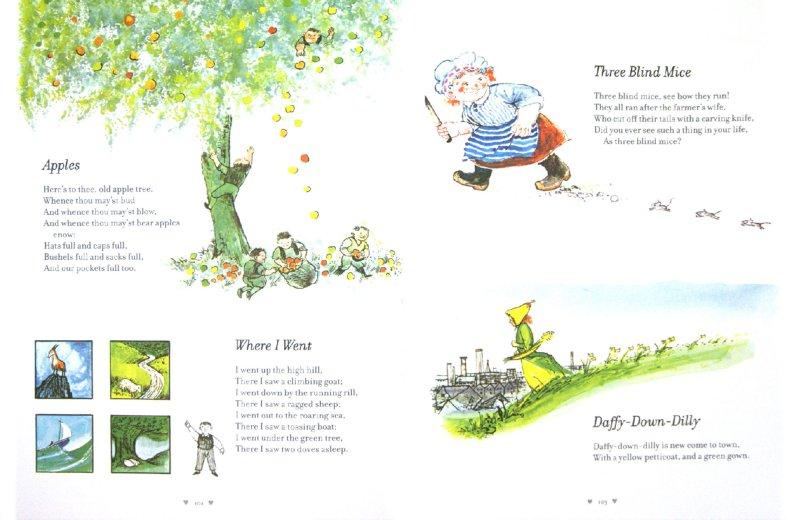 Иллюстрация 1 из 22 для The Puffin Mother Goose Treasury   Лабиринт - книги. Источник: Лабиринт
