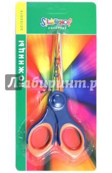 """Ножницы """"Colorful"""" 155мм: прорезиненные кольца (453011) Silwerhof"""