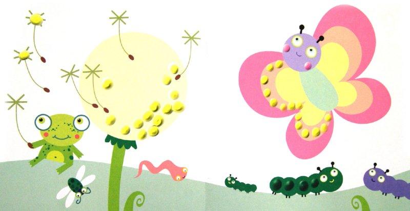 Иллюстрация 1 из 6 для Альбом пальчикового рисования. Забавные букашки   Лабиринт - книги. Источник: Лабиринт