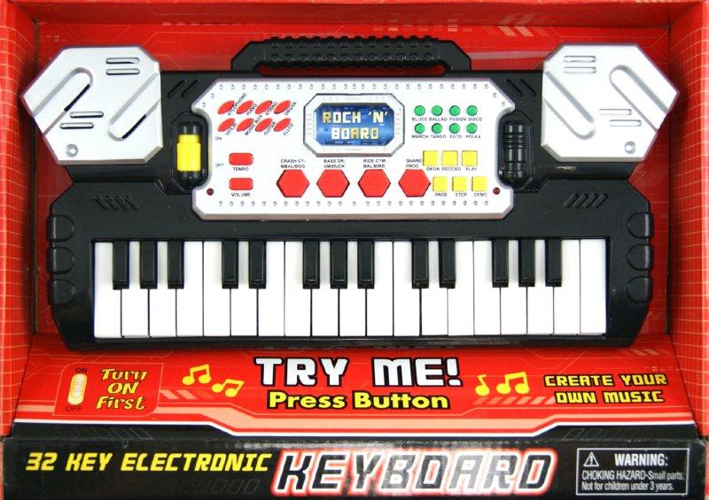 Иллюстрация 1 из 3 для Пианино музыкальное, 32 клавиши (3216С)   Лабиринт - игрушки. Источник: Лабиринт