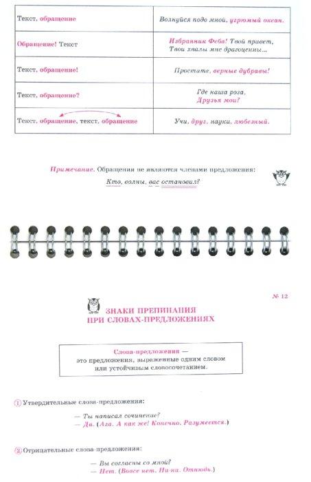 Иллюстрация 1 из 10 для Русский язык на ладони. Самые главные пунктограммы - Ольга Ушакова | Лабиринт - книги. Источник: Лабиринт