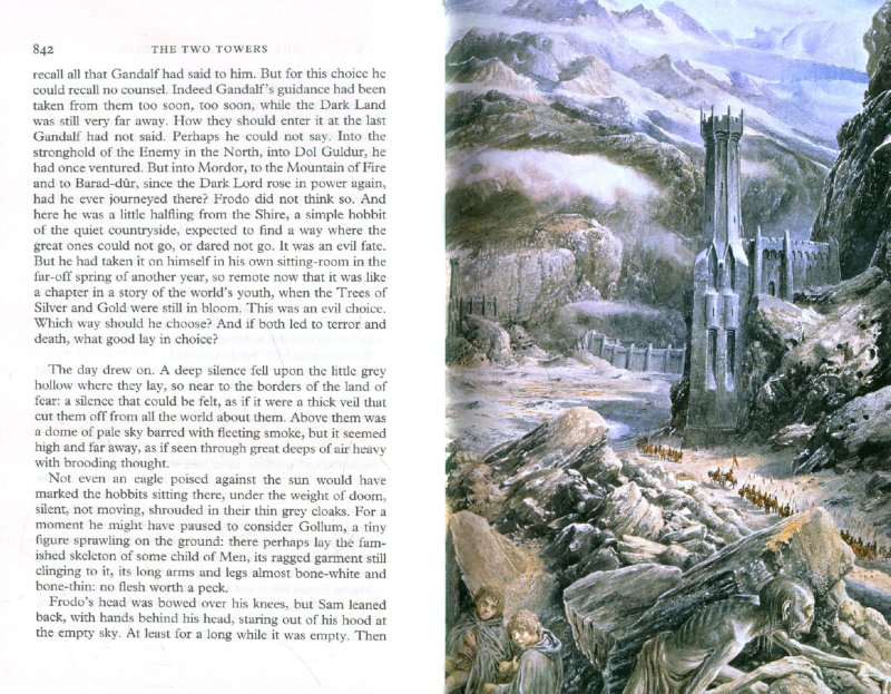 Иллюстрация 1 из 16 для Lord of the Rings: The Two Towers. Part 2 - Tolkien John Ronald Reuel | Лабиринт - книги. Источник: Лабиринт