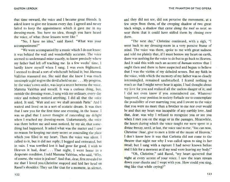 Иллюстрация 1 из 14 для The Phantom of the Opera - Gaston Leroux   Лабиринт - книги. Источник: Лабиринт