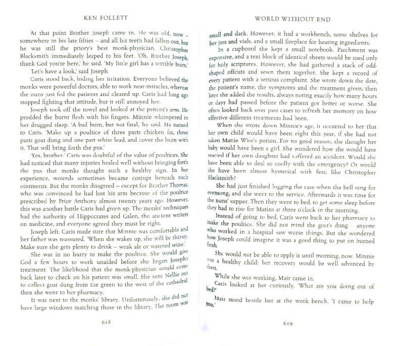 Иллюстрация 1 из 18 для World without End - Ken Follett | Лабиринт - книги. Источник: Лабиринт