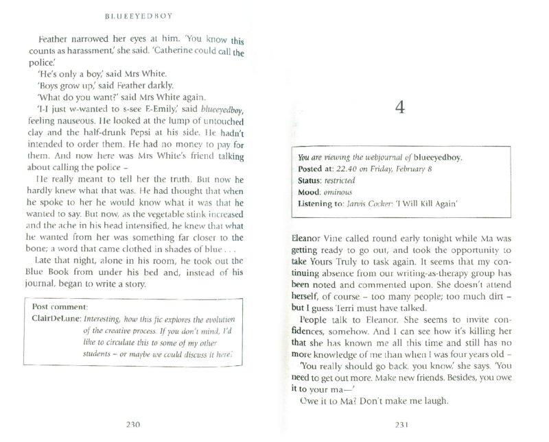 Иллюстрация 1 из 6 для Blueeyedboy (на английском языке) - Joanne Harris   Лабиринт - книги. Источник: Лабиринт