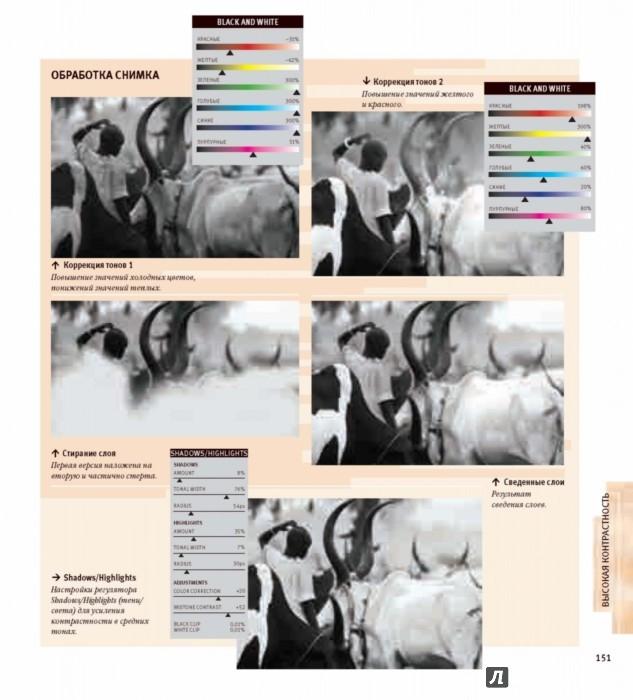 Иллюстрация 26 из 36 для Черно-белая цифровая фотография. Профессиональное практическое руководство - Майкл Фриман | Лабиринт - книги. Источник: Лабиринт