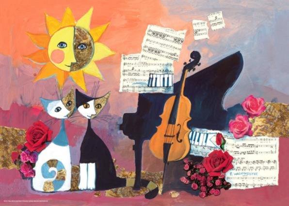 "Иллюстрация 1 из 3 для Puzzle-1000 ""Музыка, Wachtmeister"" (29449) | Лабиринт - игрушки. Источник: Лабиринт"