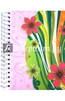"""Тетрадь в линейку, 150 листов, """"Цветы"""" (813010-95)"""