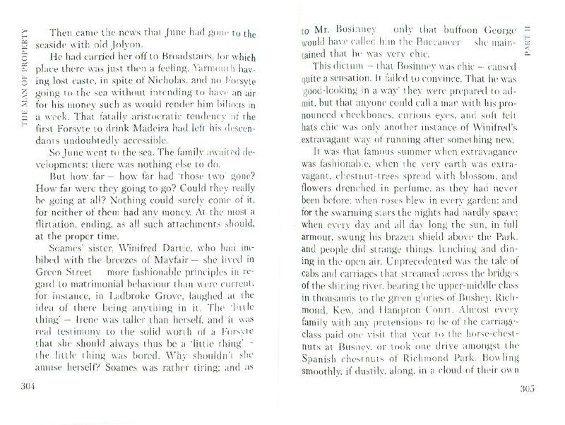 Иллюстрация 1 из 8 для The Forsyte Saga. The man of Property - John Galsworthy | Лабиринт - книги. Источник: Лабиринт
