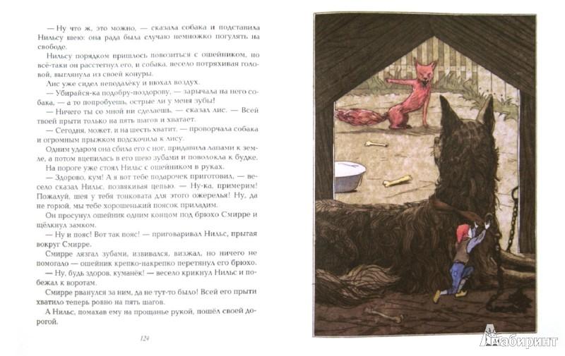 Иллюстрация 1 из 51 для Чудесное путешествие Нильса с дикими гусями - Лагерлеф Сельма Оттилия Лувиса | Лабиринт - книги. Источник: Лабиринт