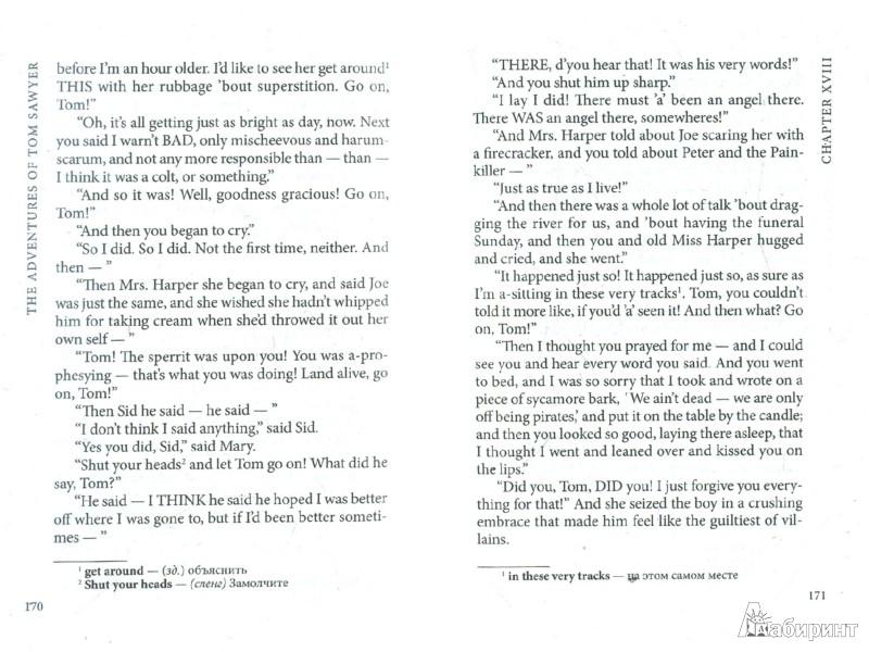 Иллюстрация 1 из 8 для The adventures of Tom Sawyer - Mark Twain | Лабиринт - книги. Источник: Лабиринт
