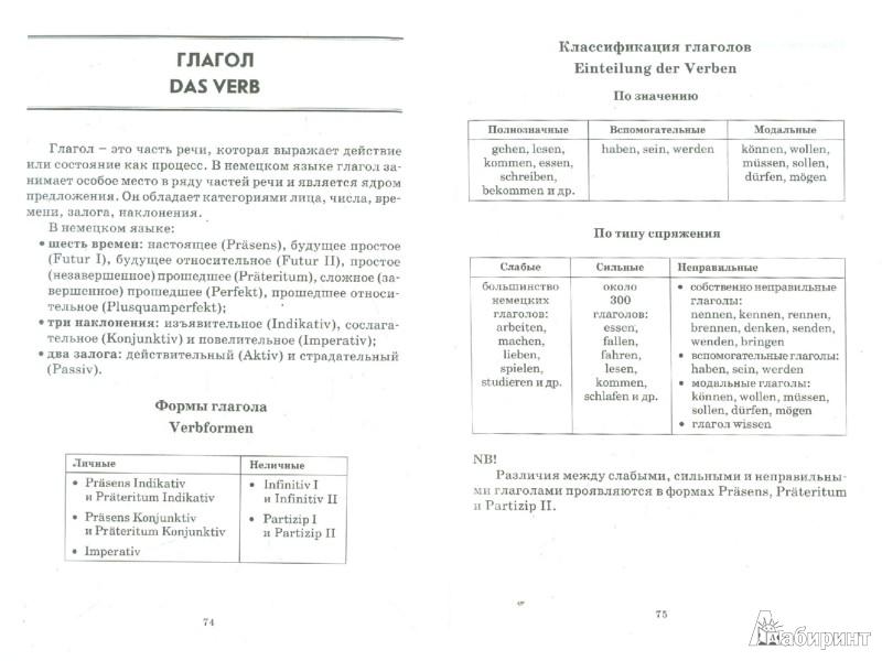 Иллюстрация 1 из 13 для Немецкая грамматика в таблицах и схемах - Евгения Тимофеева | Лабиринт - книги. Источник: Лабиринт