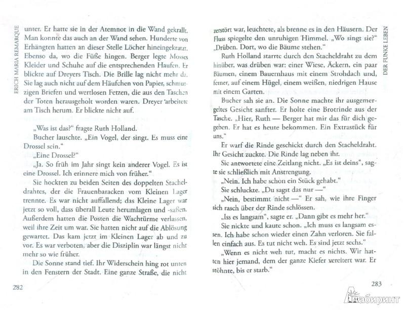 Иллюстрация 1 из 7 для Der Funke Leben - Erich Remarque   Лабиринт - книги. Источник: Лабиринт
