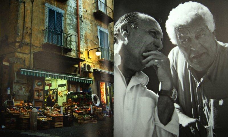 Иллюстрация 1 из 7 для Двое настоящих итальянцев и их знаменитая кухня - Карлуччо, Контальдо | Лабиринт - книги. Источник: Лабиринт