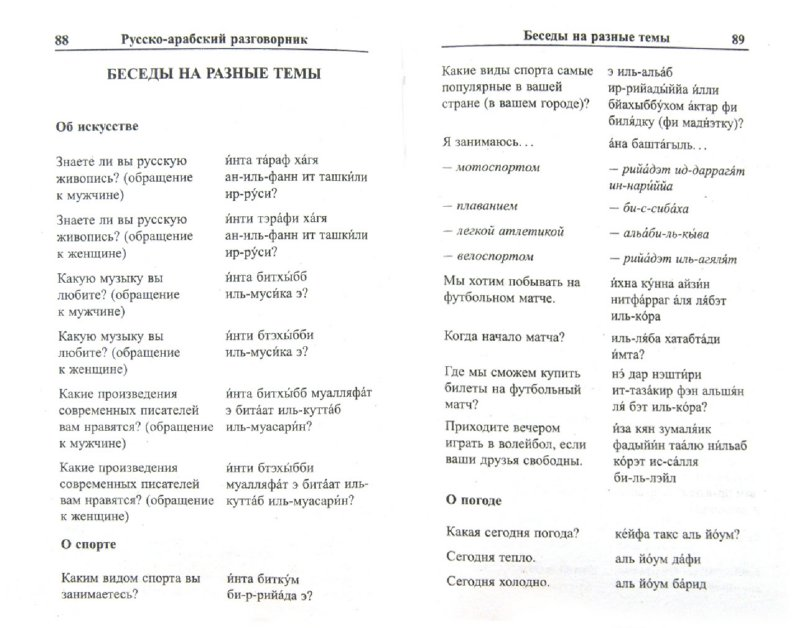 Иллюстрация 1 из 4 для Современный русско-арабский разговорник - К. Оспанова | Лабиринт - книги. Источник: Лабиринт