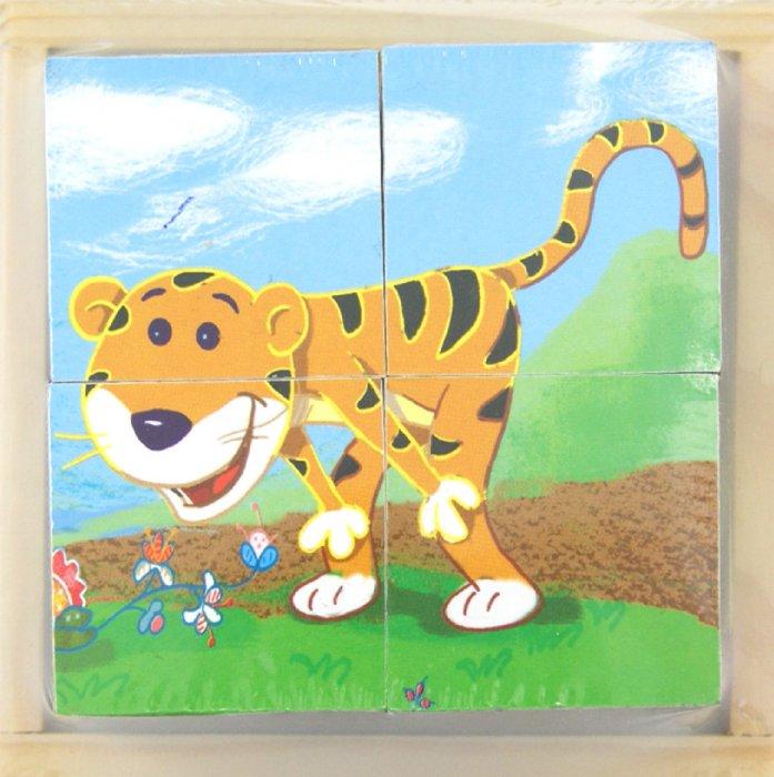 """Иллюстрация 1 из 3 для Кубики """"Животные"""" (5640)   Лабиринт - игрушки. Источник: Лабиринт"""