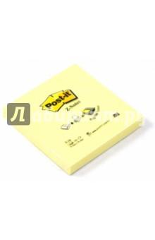 Блокнот с клеевым краем 76х76 мм, 100 листов, желтый (124116/R-330)
