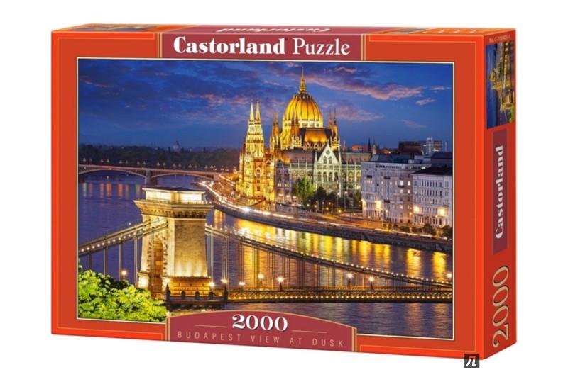 """Иллюстрация 1 из 10 для Puzzle-2000 """"Будапешт в сумерках"""" (C-200405)   Лабиринт - игрушки. Источник: Лабиринт"""