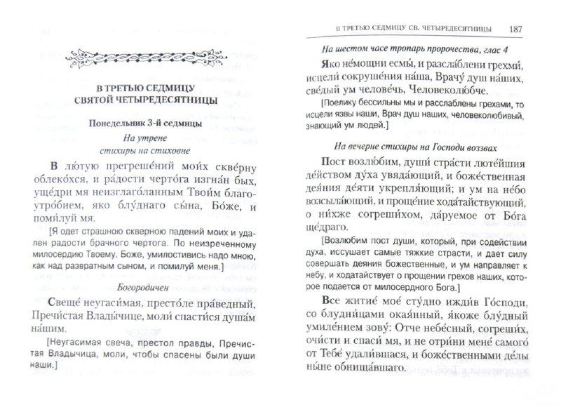 Иллюстрация 1 из 14 для Православный Молитвослов на дни Великого поста с параллельным русским переводом   Лабиринт - книги. Источник: Лабиринт