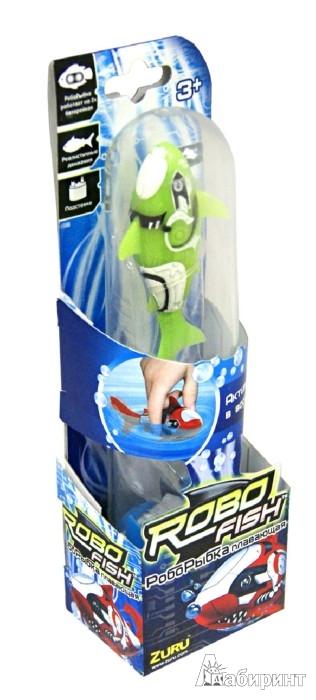 Иллюстрация 1 из 3 для РобоРыбка. Зеленая Акула (2501-7) | Лабиринт - игрушки. Источник: Лабиринт