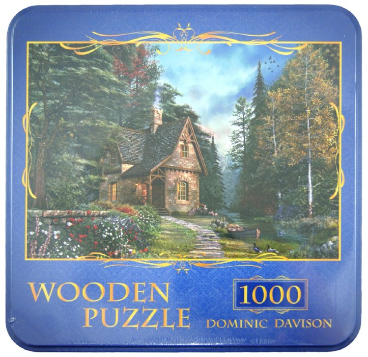 """Иллюстрация 1 из 16 для Puzzle-1000 """"Дом в лесу, Dominic Davison"""" (10035)   Лабиринт - игрушки. Источник: Лабиринт"""