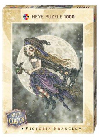 Иллюстрация 1 из 2 для 29447 Полет на метле, 1000 дет., Mistery circus | Лабиринт - игрушки. Источник: Лабиринт