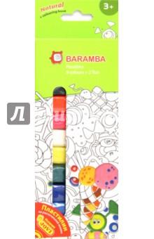 Пластилин 11 штук, 11 цветов (B30009)