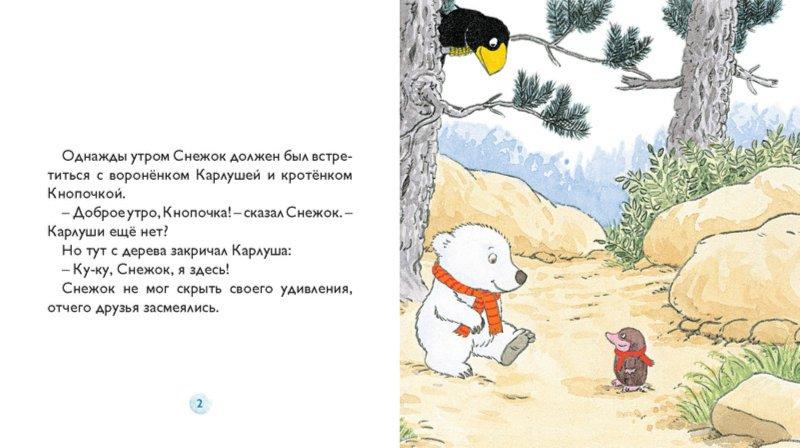 Иллюстрация 1 из 13 для Снежок играет в прятки - Дервиль, Стеэр | Лабиринт - книги. Источник: Лабиринт