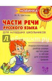 Части речи русского языка для младших школьников