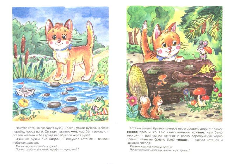 Иллюстрация 1 из 19 для Как котенок взрослым стал. Изучаем слова-понятия - Т. Куликовская   Лабиринт - книги. Источник: Лабиринт