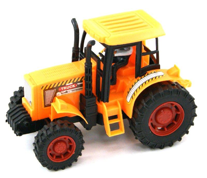 Иллюстрация 1 из 13 для Трактор инерционный, 16 см (323BD) | Лабиринт - игрушки. Источник: Лабиринт