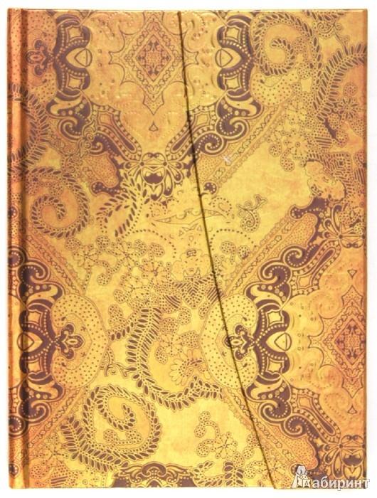 """Иллюстрация 1 из 2 для Блокнот Миди, 80 листов, """"Голд"""", 180х135 мм (БМ8811)   Лабиринт - канцтовы. Источник: Лабиринт"""