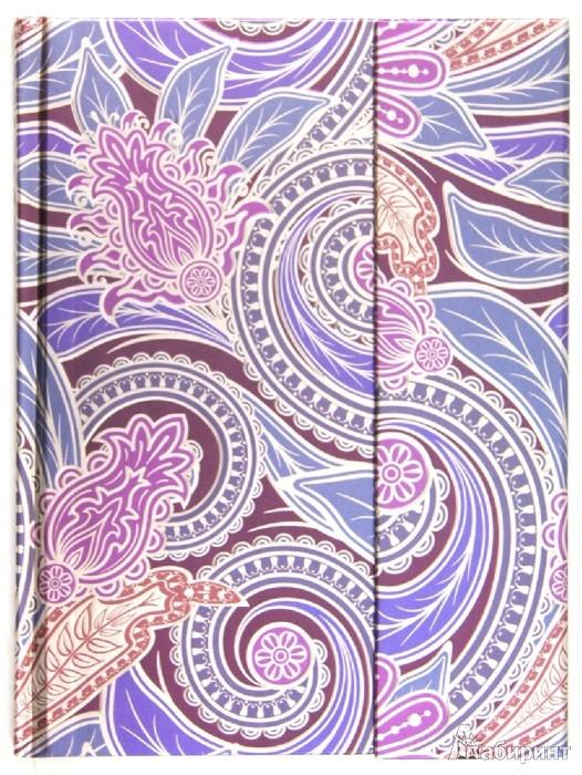 """Иллюстрация 1 из 2 для Блокнот Миди 80 листов """"Чудесный цветок"""", 180х135 мм (БМ8812)   Лабиринт - канцтовы. Источник: Лабиринт"""
