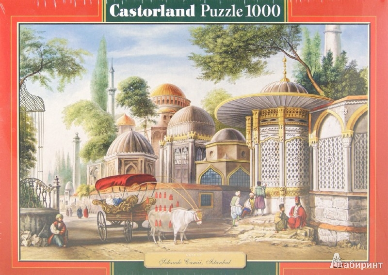 Иллюстрация 1 из 3 для Puzzle-1000. Стамбул (С-102563) | Лабиринт - игрушки. Источник: Лабиринт